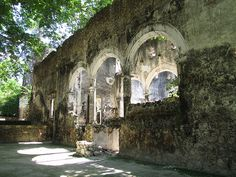 Old haciendas in the Yucatan.  So many I would love to see