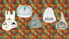 Grote hanglampen boven de salontafel