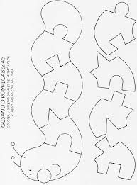 Worm puzzle quiet book page Quiet Book Templates, Quiet Book Patterns, Felt Patterns, Scroll Saw Patterns, Scroll Templates, Printable Templates, Templates Free, Diy Quiet Books, Baby Quiet Book