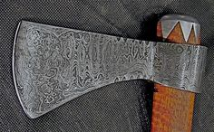 Roy Carter crafted Hawk ladder pattern axe