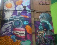 Street art Birmingham City uk taken by ginge