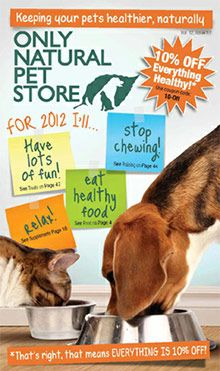 Get 15% OFF your first purchase at Only Natural Pet Store