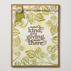 The Me = Grateful stamp set has sentiments to say thanks in so many different ways.