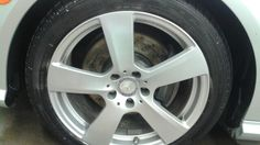 To Refinished by Auto Image Pro...10 mb e class wheel