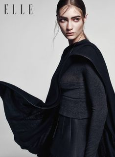 Marine Deleeuw for Elle Vietnam September 2015.