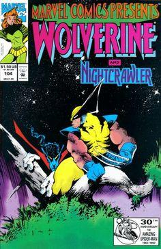 Marvel Comics Presents # 104 by Sam Kieth