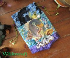 """Mermaid"" Goddess Tarot Card Bag"