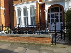 Image result for edwardian iron railings