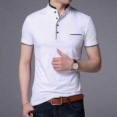 67f34452 Drop Shipping 2018 New Fashion Brand Summer Short Sleeve T-shirt Men Cotton  Casual Slim