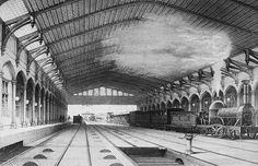 Bristol Temple Meads Station, 31 Aug 1840