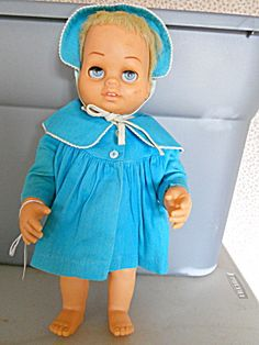 Tiny Chatty Baby Doll, Mattel 1962