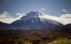 Backdrop for Lord of The Rings. Mount Ruapehu, Lord Of The Rings, Volcano, New Zealand, Backdrops, Scenery, Island, Amazing, Nova