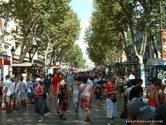 Un paseo en las Ramblas...the very heart of Barcelona.