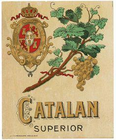 Vins Catalan Tipologia: Etiqueta Artista: desconegut Impressor: Lit. Madriguera Any: anteriorsegüentTornar inici