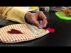 Patchwork: gallinitas decorativas multiuso - YouTube