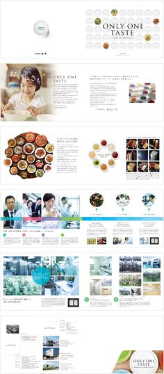 株式会社味泉 会社案内 もっと見る Booklet Layout, Flyer Layout, Pamphlet Design, Leaflet Design, Print Layout, Layout Design, Company Profile Design, Catalogue Layout, Placemat Design