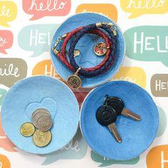 WahSoSimple - craft workshops, DIY craft kits and ideas!: DIY Craft: Air Dry Clay Dish