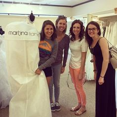 Happy brides make us happy! Congrats to Lindsay on your gorgeous new gown, and best wishes for a wonderful future! You're going to make an exquisite bride! ❤️ #elegantbride #columbusbride #sayyestothedress