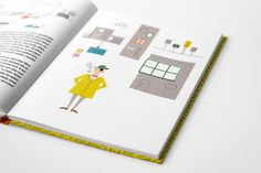 Pavel Mrňous: Zazie skutečně v metru Illustration, Design, Illustrations, Character Illustration
