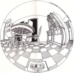 4 Point Perspective Drawing 5 point perspective by nuge113