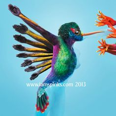 15 Body Paintings of Animals That Completely Hide the Humans - My Modern Met - Kate Spinks Dean