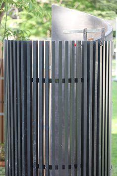 Les claustras bois Kit Kurly peuvent servir de paravent de douche extérieure Radiators, Fences, Home Appliances, Shower, Garden, Outdoor, Shutter, Privacy Screens, Projects