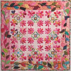 """""""Trying to hold on"""" by Becky Goldsmith.  Quilting for a cause."""