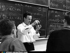 Dr. Feynman and Quantum Mechanics