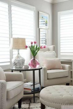 Neutral doesn't mean boring beige. Try an off-white color scheme!