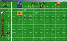 Football Squares with half the winnings going to JDRF Football Squares, Free Resume, Sample Resume, Free Printables, Periodic Table, Templates, Pots, Games