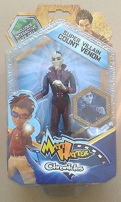 "MATT HATTER CHRONICLES: COUNT VENOM (Super Villain) 6"" Action Figure - MOC"