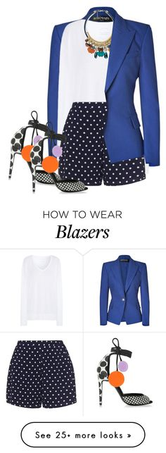 """""""Casual white shirt"""" by budding-designer on Polyvore featuring Balmain, Comptoir Des Cotonniers, MANGO, Zizzi, Pierre Hardy and WardrobeStaples"""
