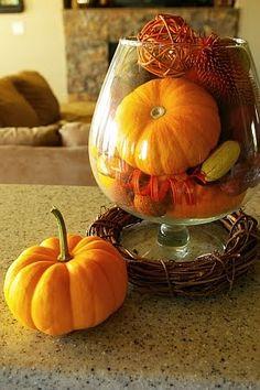 Fall Decor - mix it up!
