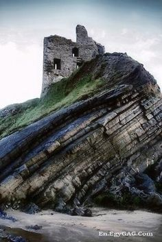 Ballybunion Castle, Ireland by deirdre