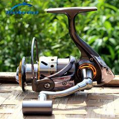 12+1 BB Spinning Reel Fishing Quality Coil Metal Spool Fishing Reels 5.2:1