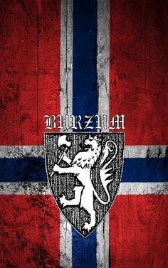 Burzum Norway flag