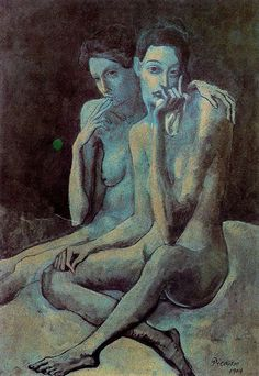 """Two Friends"", 1904 - Pablo Picasso 