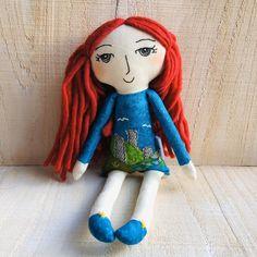 Irish Handmade Doll celtic doll mystical textile landscape   Etsy Handmade Dolls, Handmade Gifts, Irish Landscape, Mystic, Textiles, Christmas Ornaments, Holiday Decor, Unique Jewelry, Etsy