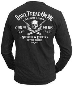d5ae17cf7 Don t Tread On Me® - Gunslinger - Longsleeve T-Shirt – Don
