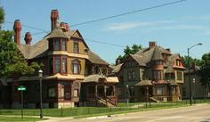 Hackley & Hume Historic Lumber Baron Homes in Muskegon, Michigan