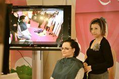 Salon du bien-être - séance de drapping ) fevrier 2012