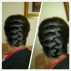 French Braid Protective Style Tutorial