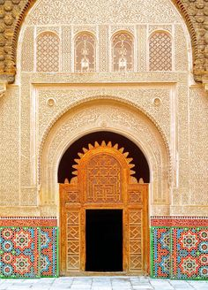 If you have a passion for design and vivid colors, you'll fall in love with Marrakech, Morocco. Dating all the way back to the 12th century, the Ben Youssef Madrasa mosque is truly majestic. We've also dreamed of visiting Casablanca, Rabat, and Tangier, which are all in the region.