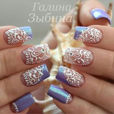 """@Regrann from @galina_belgorod_nails -  Swan Nails is dedicated to promoting quality, inspirational nails  Find us on Facebook Swan Nails in Victoria!…"""