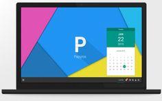 Papyros, la Distro che Linux identico ad Android Lollipop #papyros #linux #android #lollipop