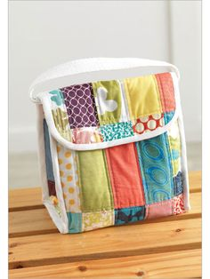Patchwork Lunch Sack