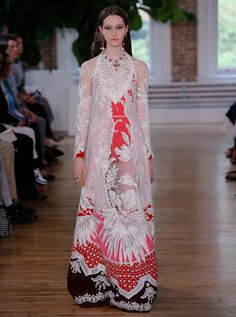 A look from Valentino's Resort 2018 collection. Photo: Valentino