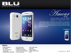 blu amour android with class and style