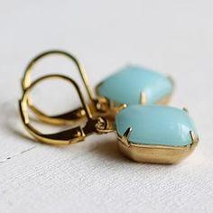 Seafoam Jewel Earrings