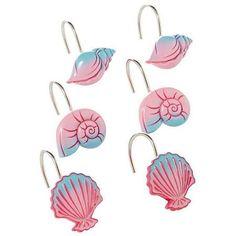 Disney Little Mermaid Ariel Shower Curtain Hooks